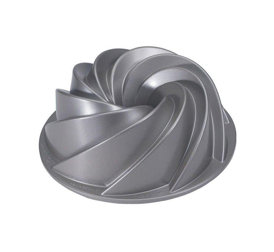 Heritage Bundt Pan Silver 10-cup