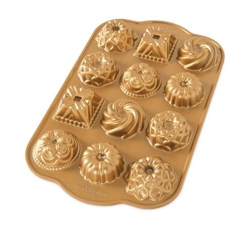 Nordic Ware Bundt Charms Gold 1.2-cup