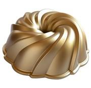 Nordic Ware Swirl Bundt Pan Gold 10-cup