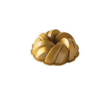 Nordic Ware Braided Bundt Pan Gold 12-cup