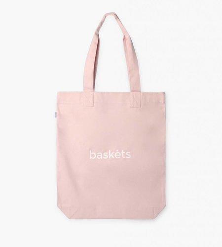 Baskèts Baskèts Heavy Canvas Tote Bag Pale Pink