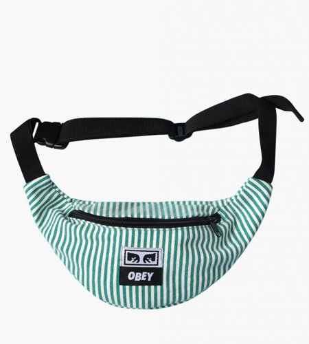 Obey Obey Wasted Hip Bag Teal White