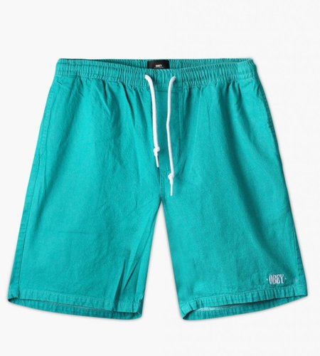 Obey Obey Keble Short Teal