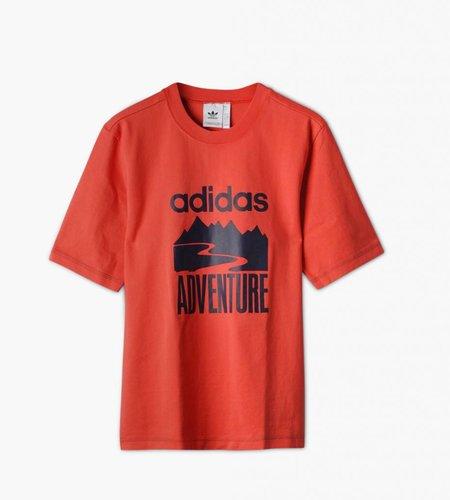 Adidas Adidas Atric Adventure T-shirt Trace Scarlet