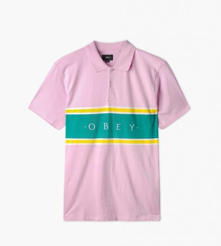 Obey Obey Palisade Polo Pink