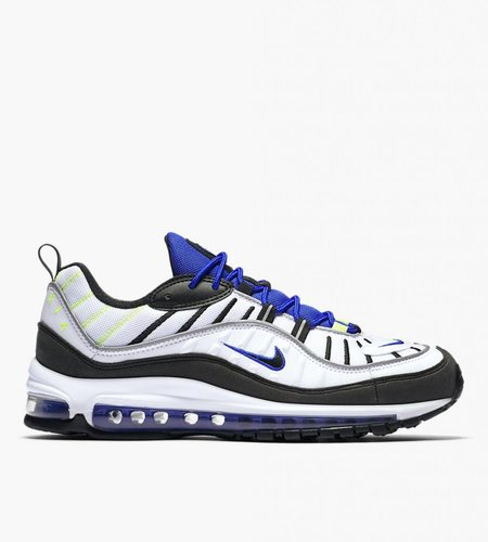 Nike Nike Air Max 98 White Black Racer Blue Volt