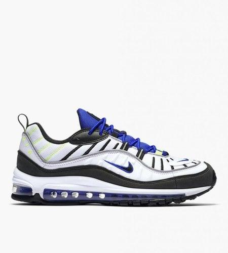 Nike Nike Air Max 98 White Black Racer Blue Volt