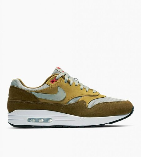 Nike Nike Air Max 1 Premium Retro Green Curry Olive Flak Spruce Fog Peat Moss