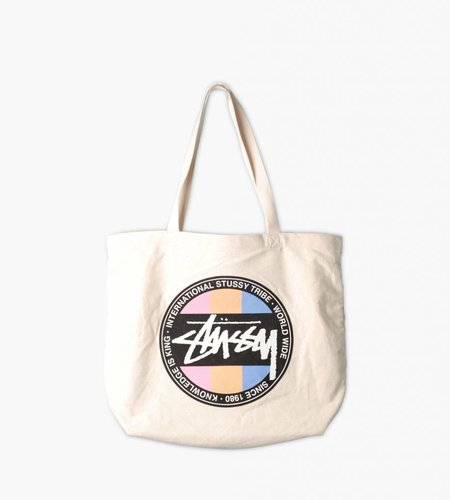 Stussy Stussy Stock  Dot  Tote Natural