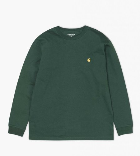 Carhartt Carhartt Longsleeve Chase T-Shirt Tasmania Green