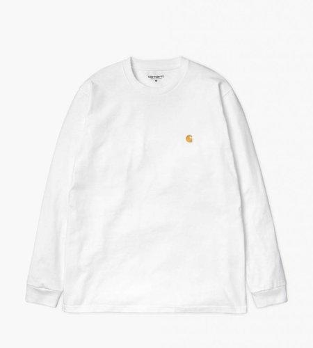 Carhartt Carhartt Longsleeve Chase T-Shirt White