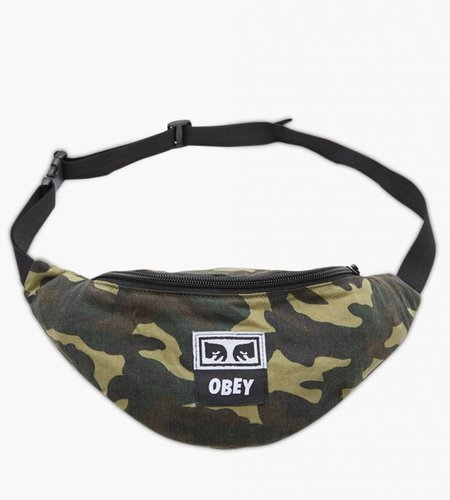 Obey Obey Wasted Hip Bag Field Camo