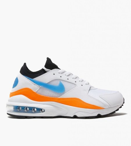 Nike Nike Air Max 93 White Blue Nebula Total Orange