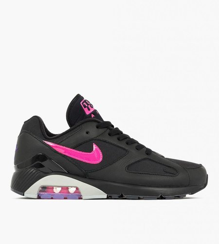 Nike Nike Air Max 180 Black Pink Blast Wolf Grey