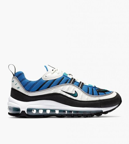 Nike Nike W Air Max 98  'Nebula Blue' Sail Radiant Emerald Nebula Blue