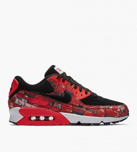 Nike Nike x Atmos Air Max 90 Box Pack 'We Love Nike' Black Crimson Ash