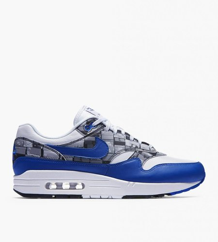 Nike Nike x Atmos Air Max 1 Box Pack 'We Love Nike' White Game Royal Neutral Grey