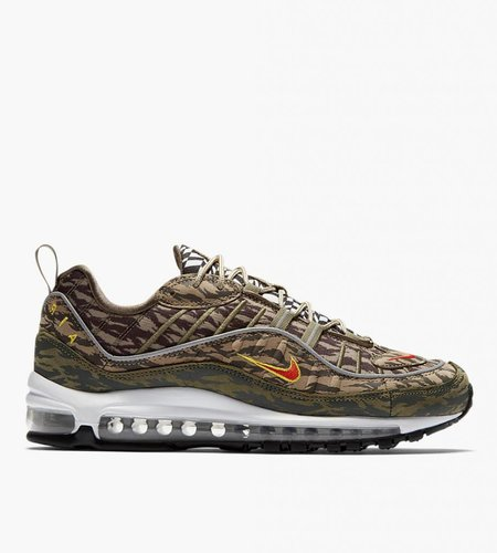 Nike Nike Air Max 98 AOP Khaki Team Orange Medium Olive