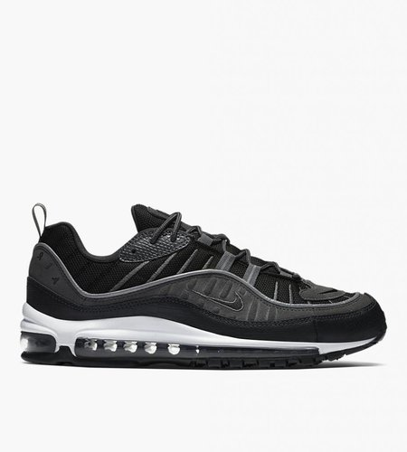 Nike Nike Air Max 98 SE Black Anthracite Dark Gray White