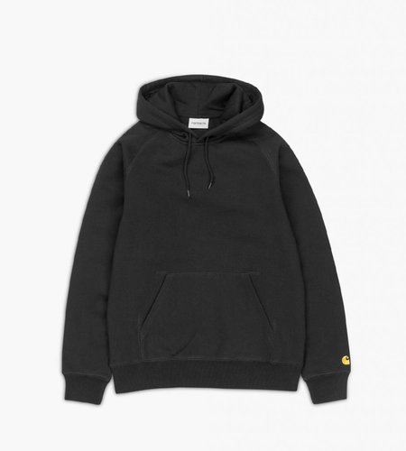 Carhartt Carhartt Hooded Chase Sweat Black Gold