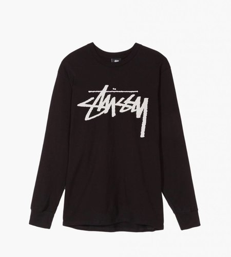 Stussy Stussy Old Stock LS Tee Black