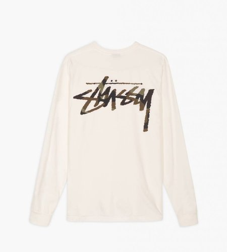 Stussy Stussy Camo Stock Pkt LS Tee Natural