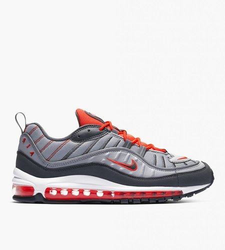 Nike Nike Air Max 98 Total Crimson Wolf Gray Dark Gray