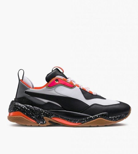 PUMA Puma Thunder Electric White Black Mandarine Red