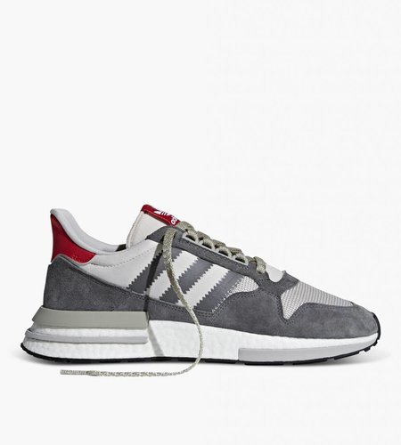 Adidas Adidas ZX 500 RM Boost Grey Four/White/Scarlet