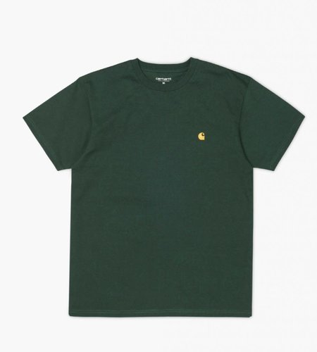 Carhartt Carhartt S/s Chase T-shirt Combed Loden Gold
