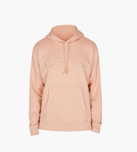 Obey Obey Construct Hood Dusty Coral