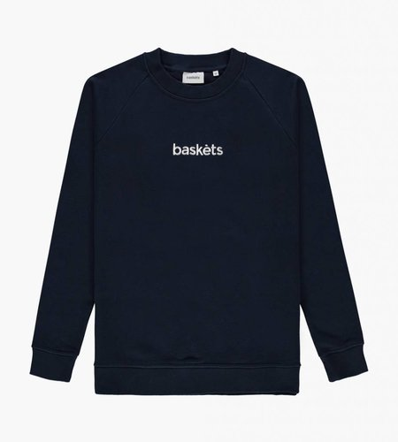 Baskèts Baskèts Crew Neck Sweat Navy