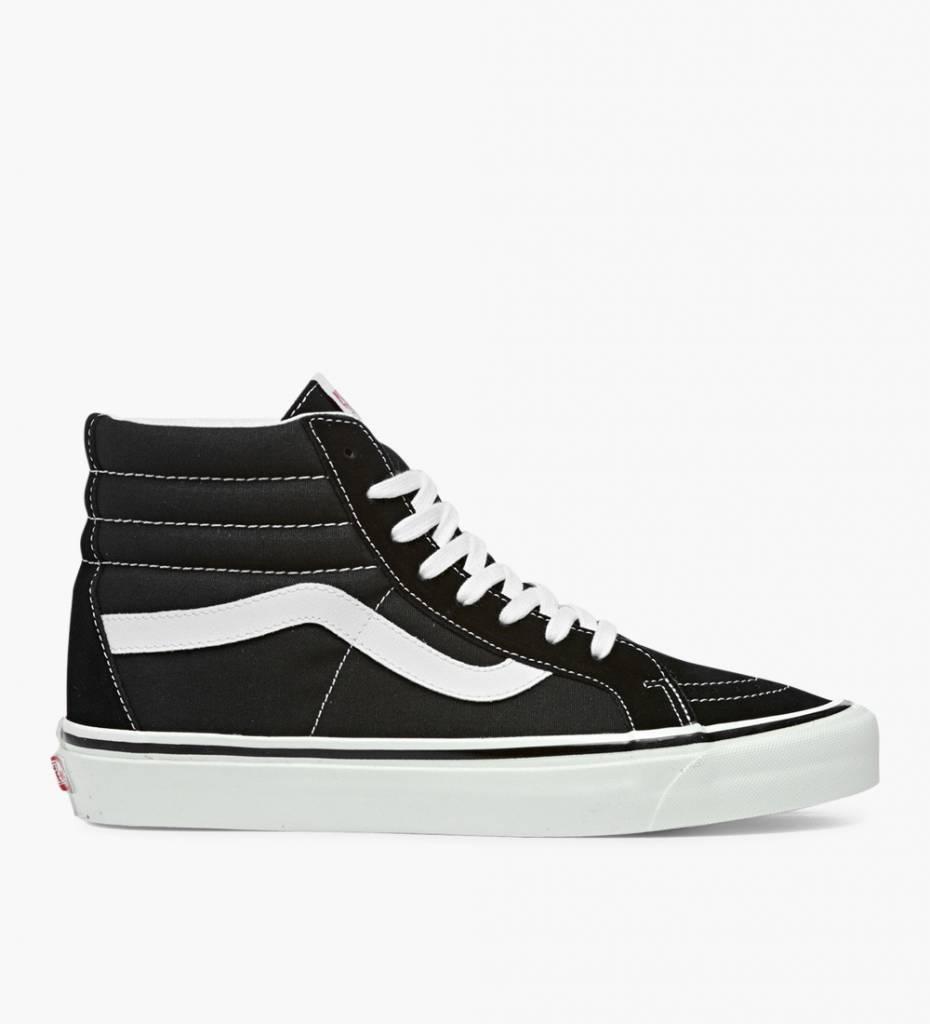 23721576df Vans SK8-Hi 38 DX (ANAHEIM) Black White - Baskèts Stores Amsterdam