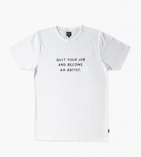 Ceizer Ceizer Become An Artist T-Shirt White