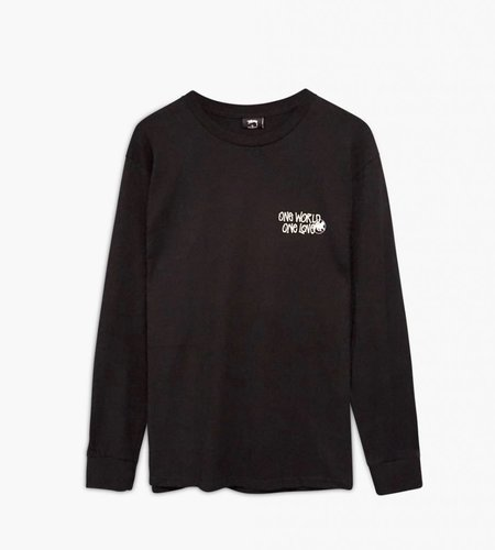 Stussy Stussy One World LS Tee Black