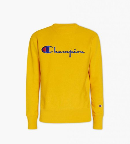 Champion Champion Crewneck Sweatshirt Yellow