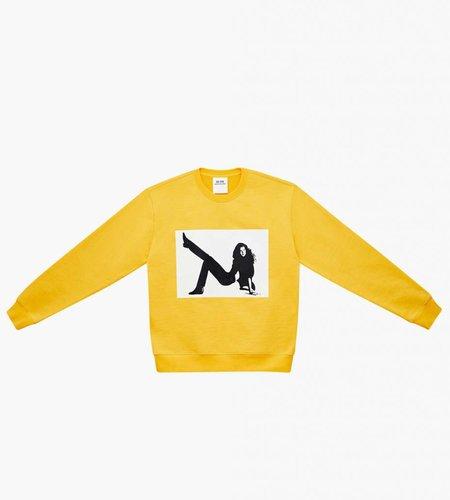 Calvin Klein Calvin Klein EST. 1987 Icon Print Crewneck Yellow
