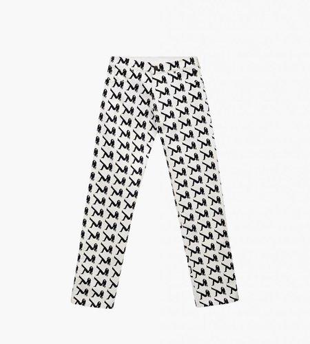 Calvin Klein Calvin Klein EST. 1987 AOP Icon Jeans White