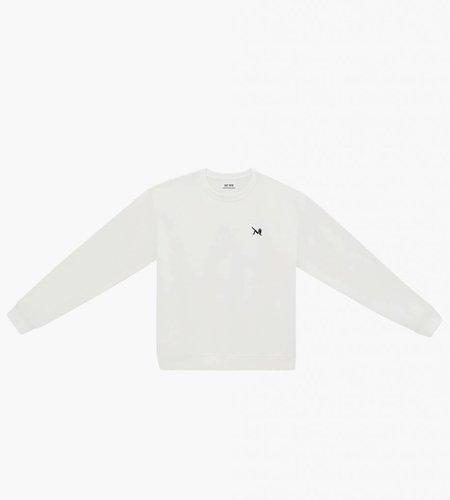 Calvin Klein Calvin Klein EST. 1987 Icon Embroidery Crew Bright White CK Black