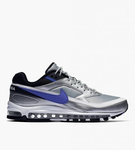 Nike Nike Air Max 97 / BW Metallic Silver Black White Persian Violet
