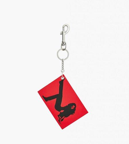 Calvin Klein Calvin Klein EST. 1987 Icon Key Chain 676 Tomato