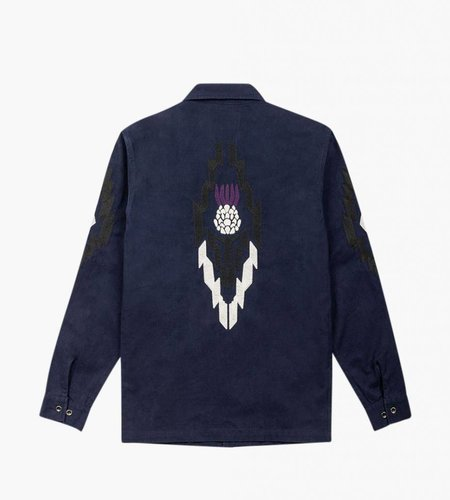 Native North Native North Field Thistle Overshirt Navy