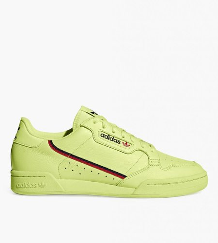 Adidas Adidas Continental 80 Semi Frozen Yellow  Scarlet Collegiate Navy