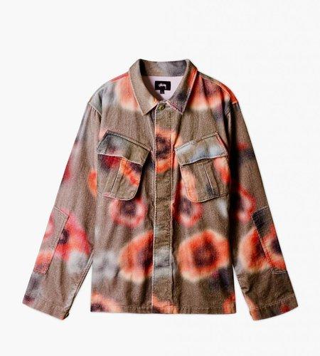 Stussy Stussy Velveteen Jungle LS Shirt Floral