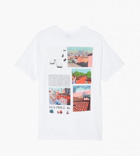 Stussy Stussy Imaginary Spaces Tee White