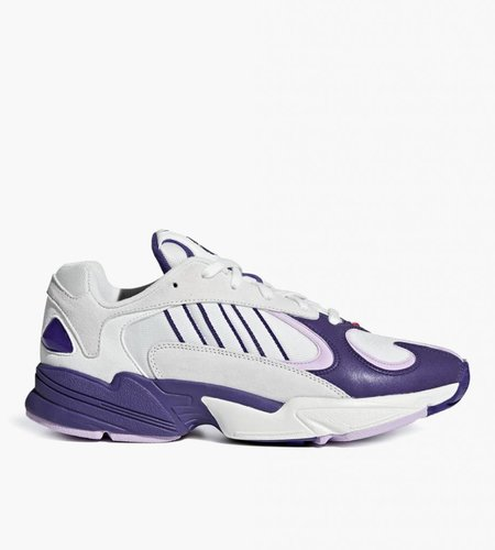 "Adidas Dragon Ball Z x adidas Yung 1 ""Frieza"" Cloud White Unity Purple Clear Lilac"