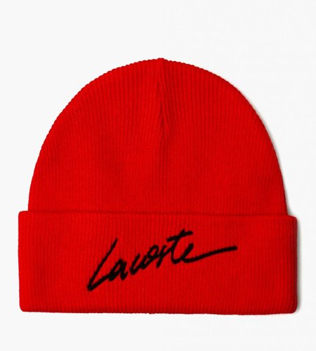 Lacoste Live Lacoste Live 2G4B Knitted cap 08A Red