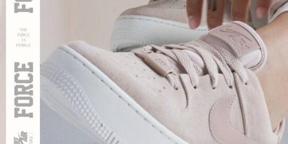 low priced be256 a2f23 04 10 2018 - 16 02. Nike air force 1 x jorja smith. The Nike Air Force 1  Sage Low sneaker went live on ...
