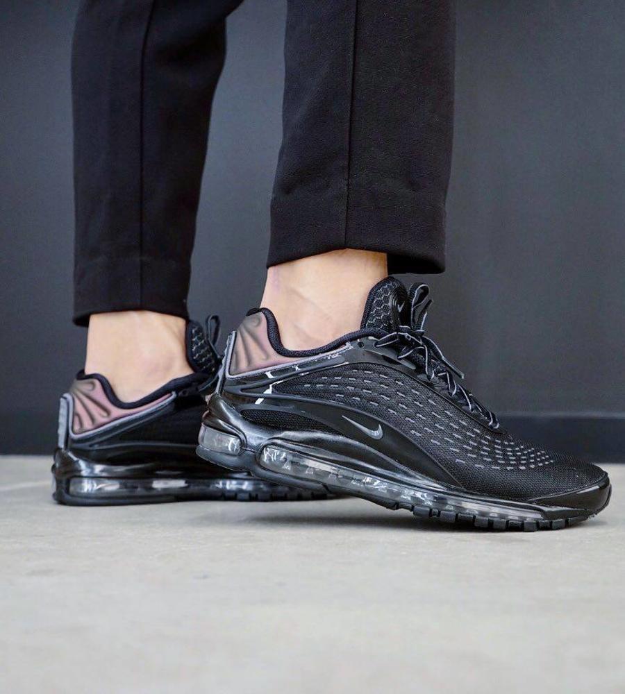 low priced 56349 81b24 Nike Nike air max deluxe black dark gray. Image 1   3