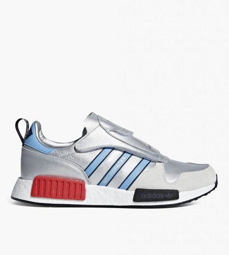 Adidas Adidas Micropacer x R1 Silver Metallic Light Blue Footwear White